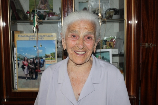 Мария Матвеевна Рухляда, 2015