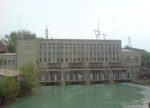 Кадырьинская ГЭС. Фото Википедии